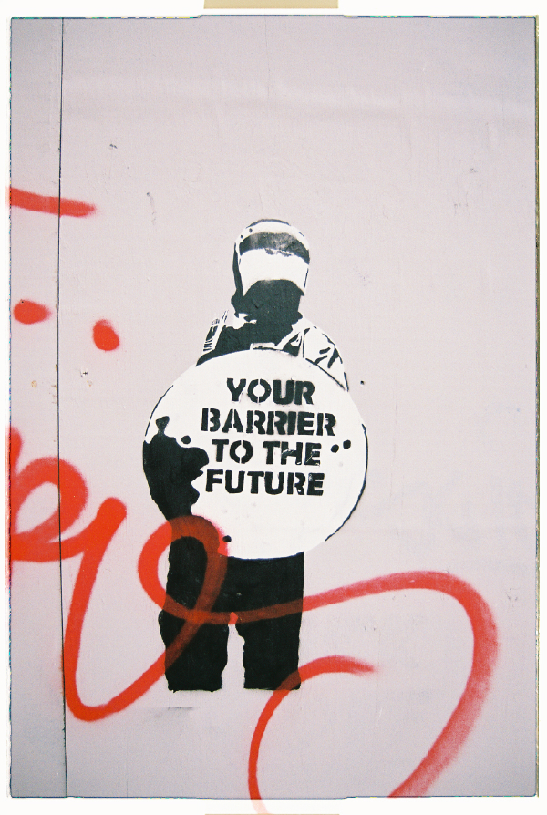 Your barrier to the Future © Sandra Stein
